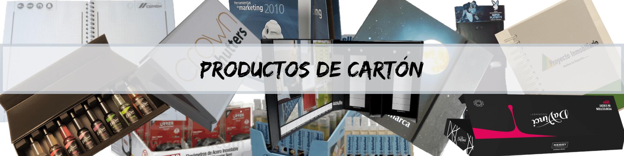 productos de carton