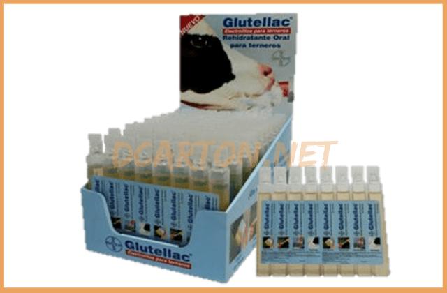 Exhibidores de carton para mostrador Gutellac