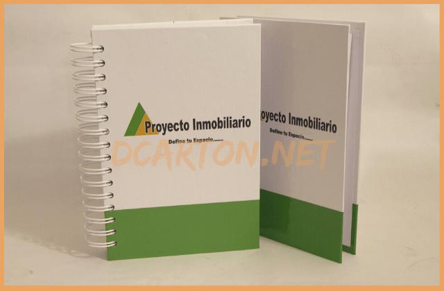 Libretas personalizadas Proyecto Inmobiliario