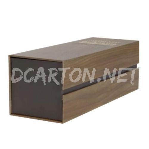 Caja de cartón imitación madera Image