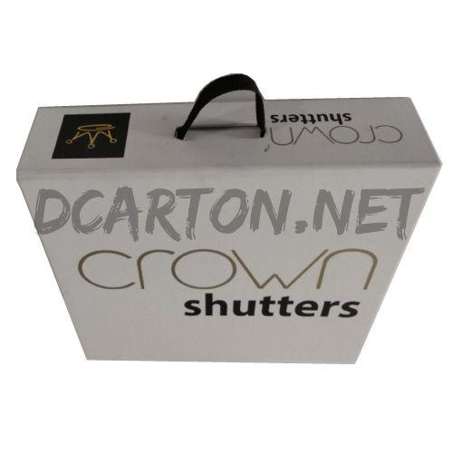 Caja muestrario Crown Shutters Image
